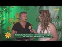 2º Sunset Gen TV  comemora os 5 anos da Rede Gen TV