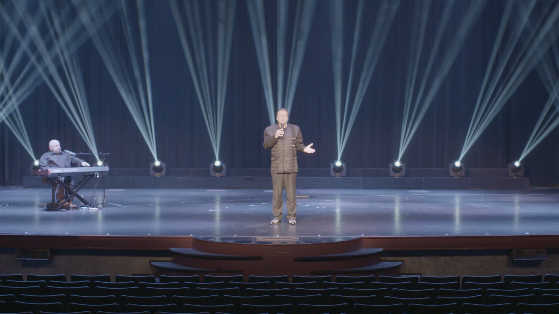 """Full Cut of """"Ethan Tate's Branson, Missouri"""" Filmed in January 2019, performances took place inside the Mickey Gilley Theater in Branson, Missouri, and was screened at ArtCenter on 10 December, 2019."""