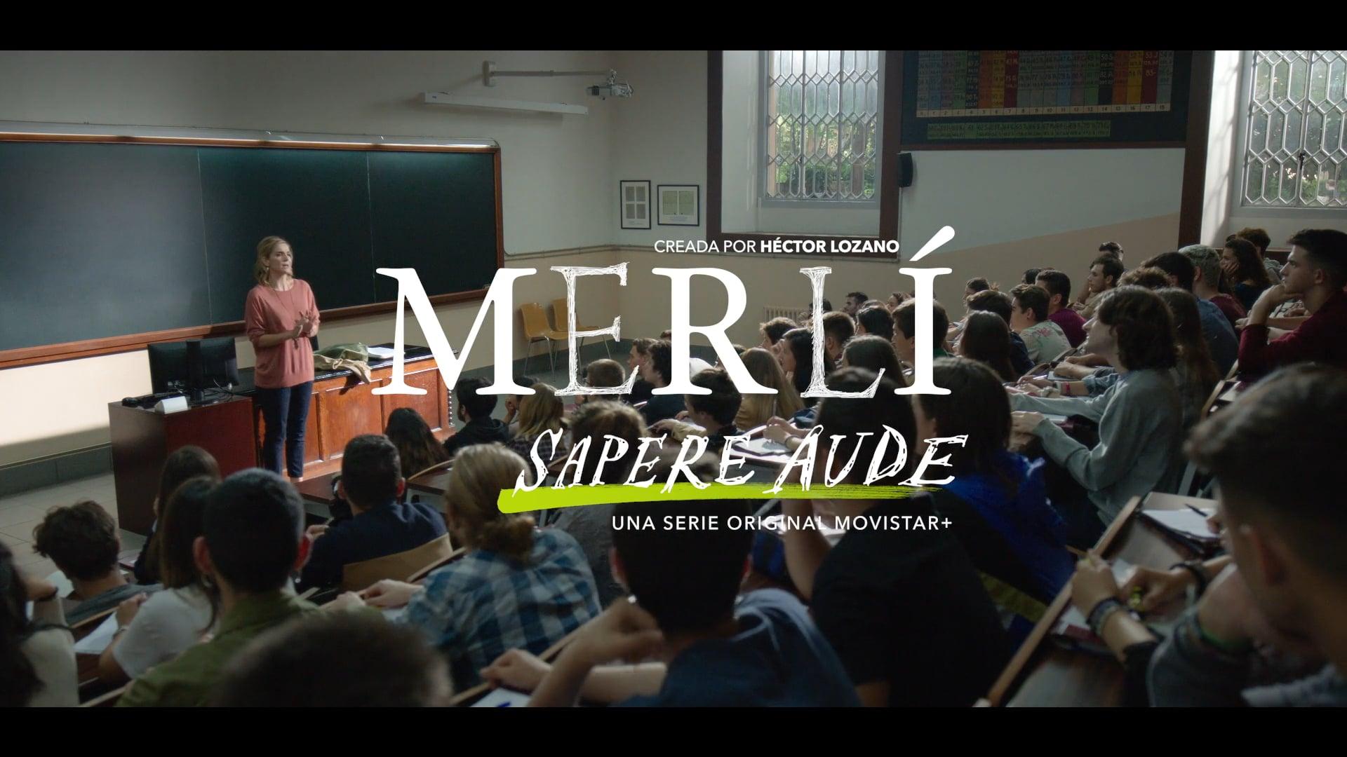 Merlí. Sapere Aude - Filosofía