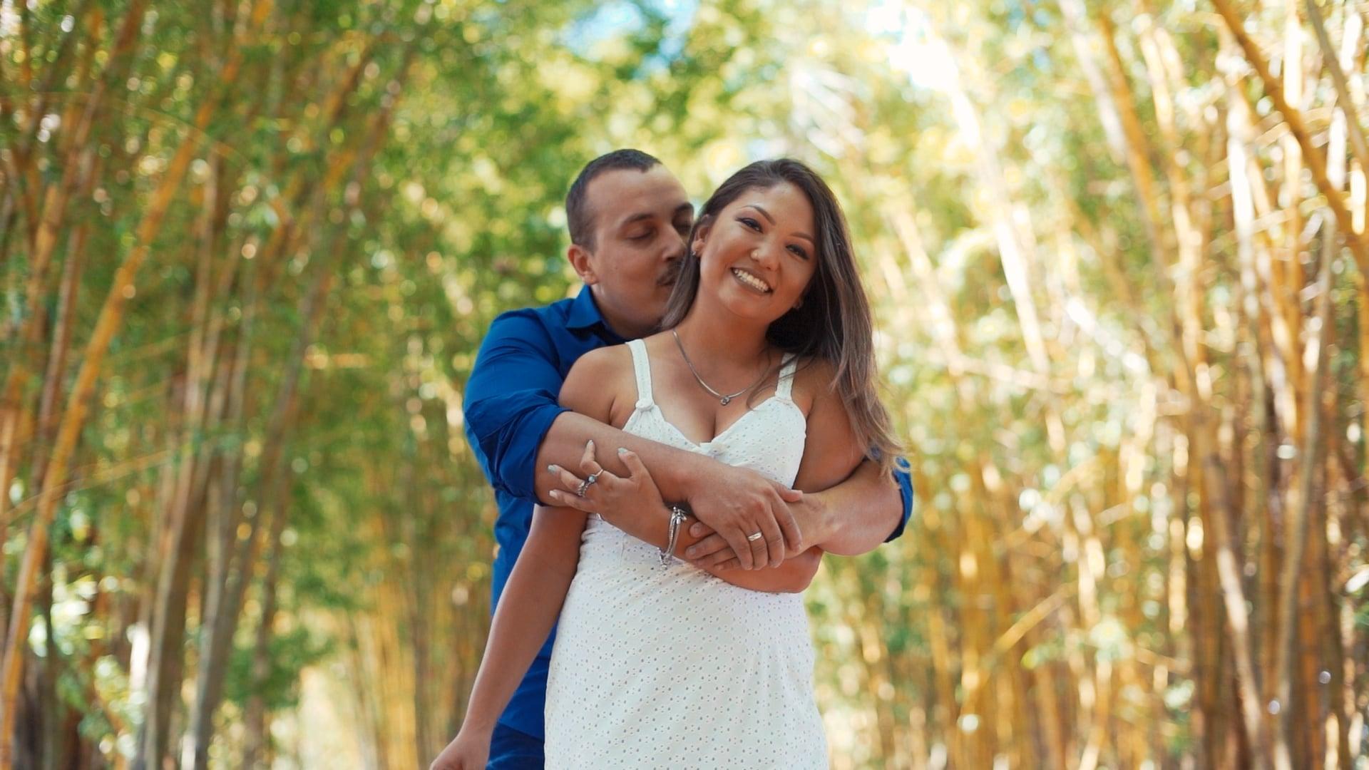 Leticia e Jonathan