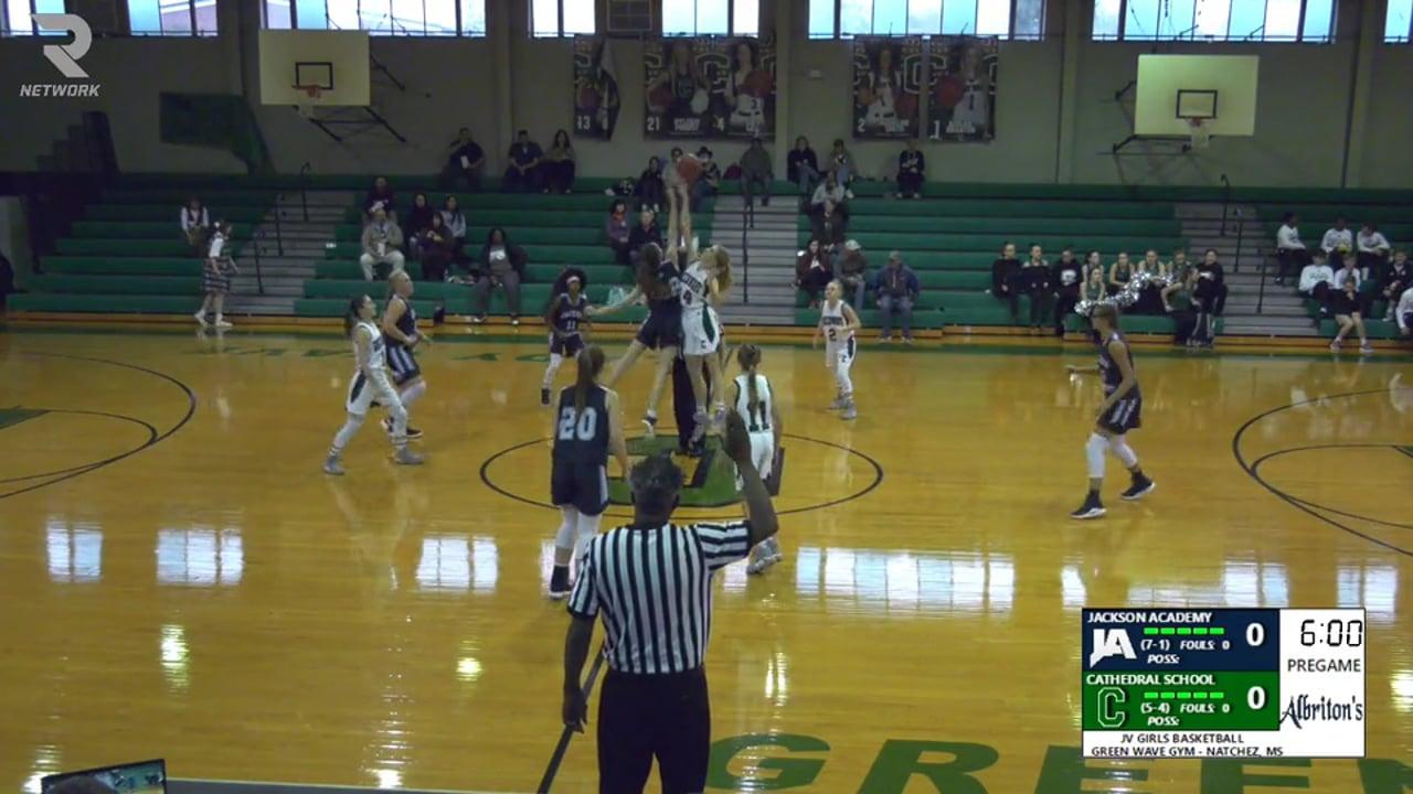JV Girls Basketball-2019-Dec 10-Cathedral