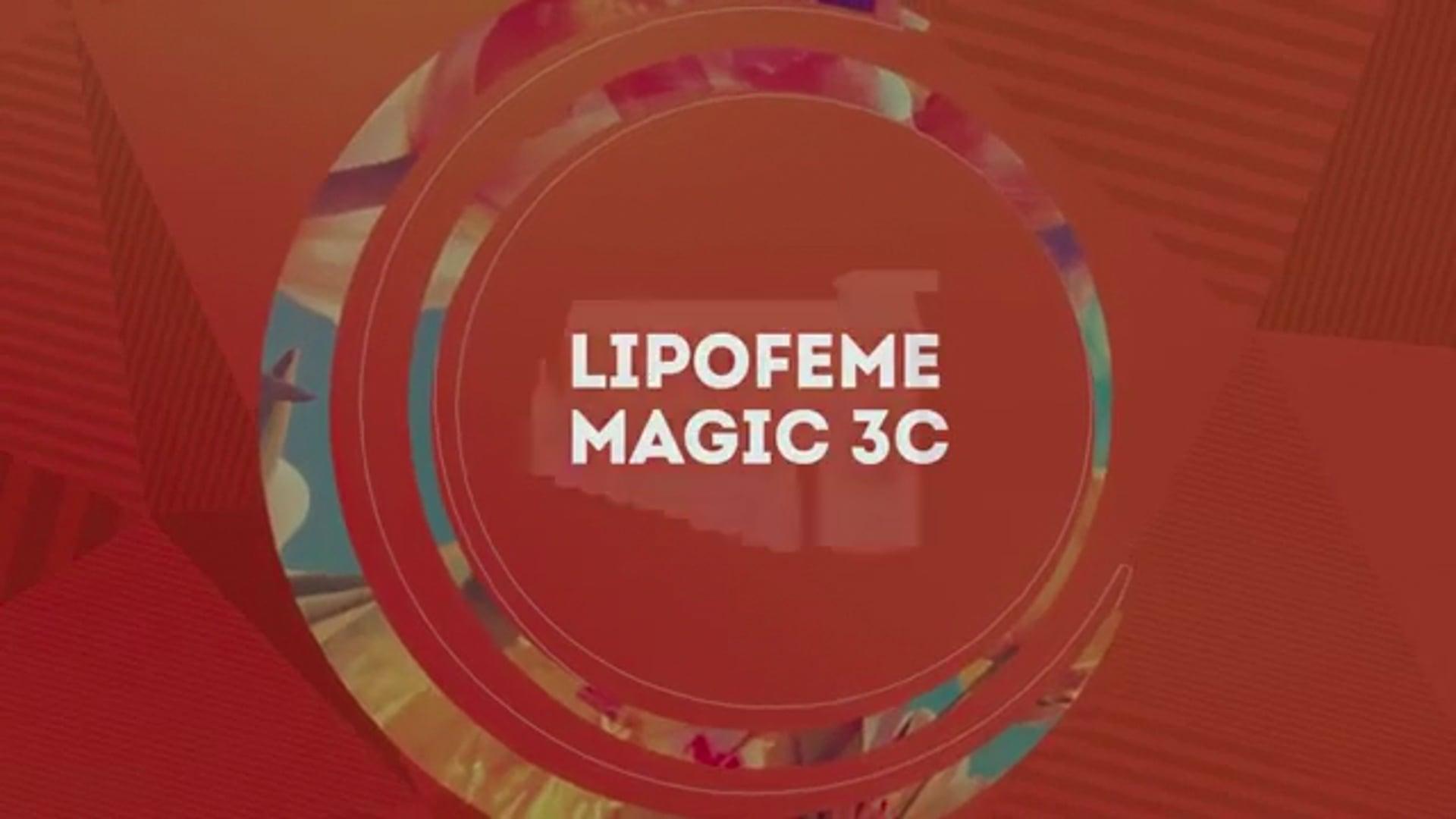 Lipofeme Magic 3C: redução de medidas, celulite e gordura localizada