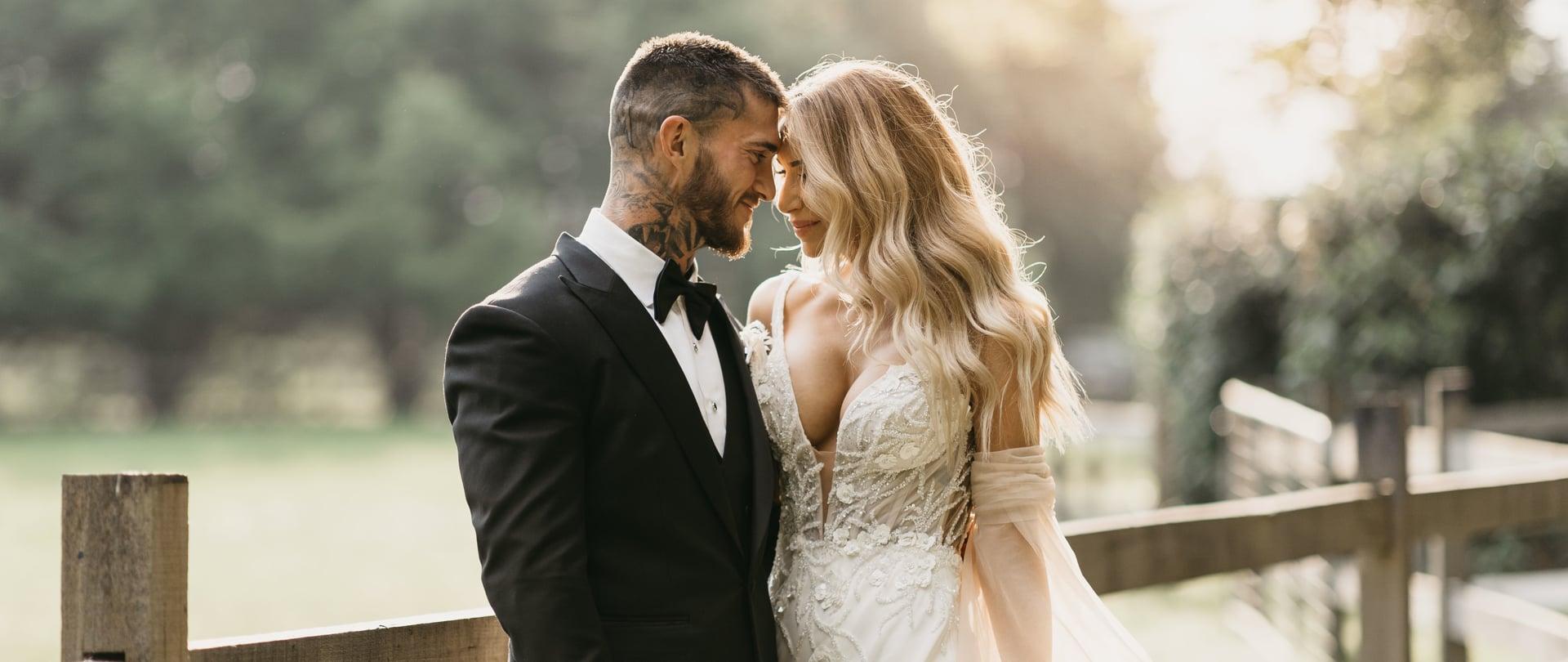 Sharah & Matt Wedding Video Filmed at Berry, New South Wales