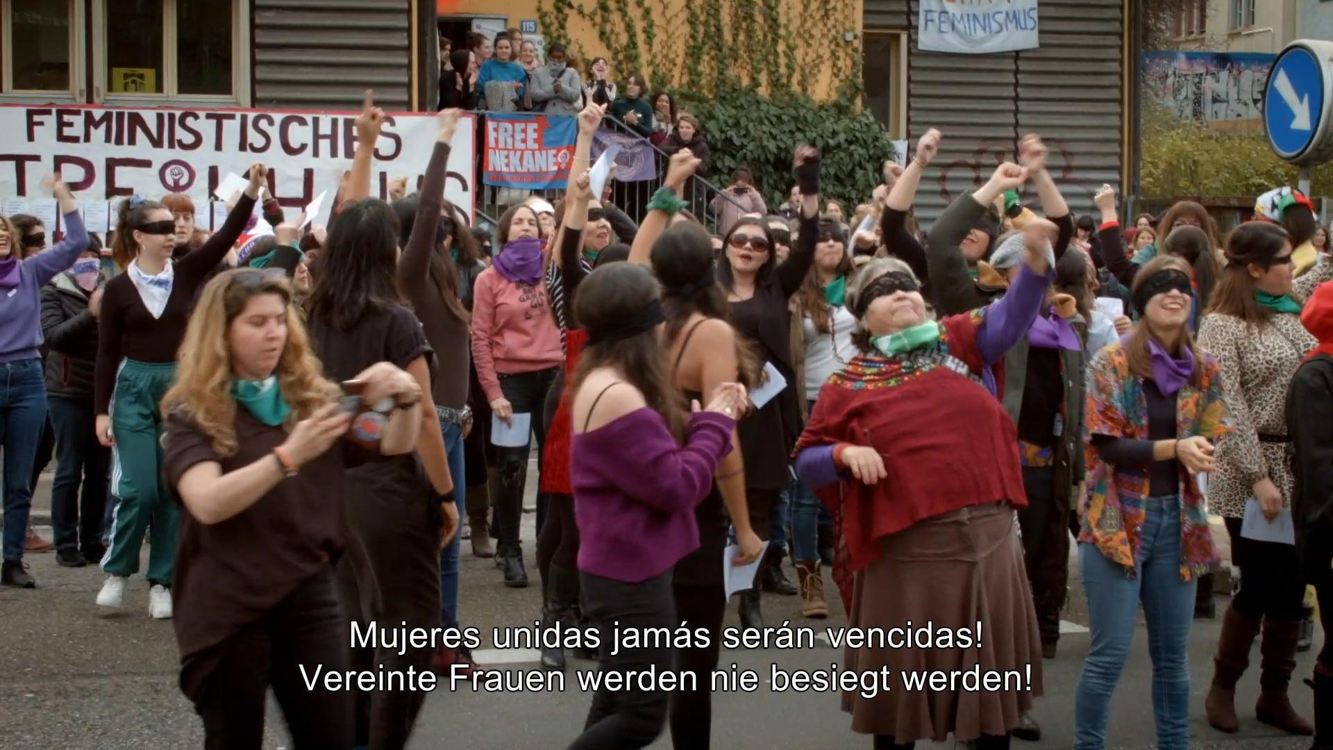 """""""Un violador en tu camino"""" -- Performance en Zurich (Suiza)"""