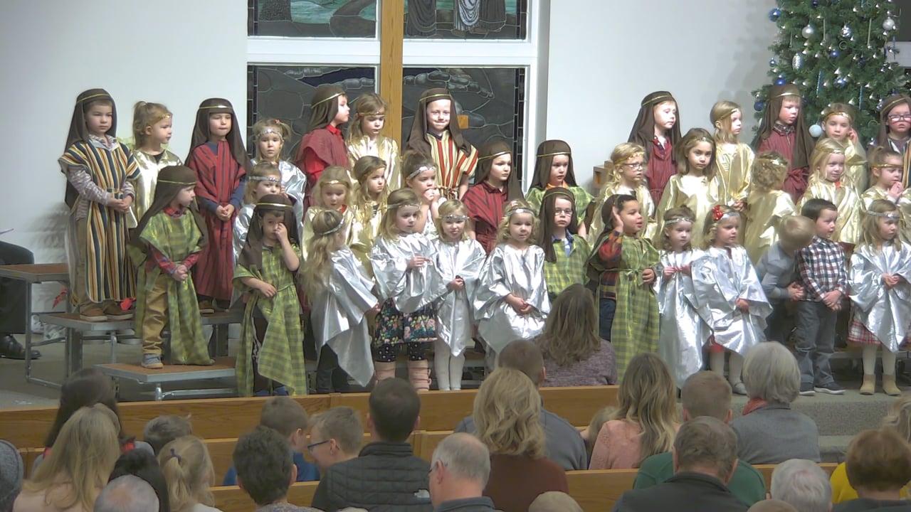Peace Lutheran Preschool Christmas Program, December 13, 2019