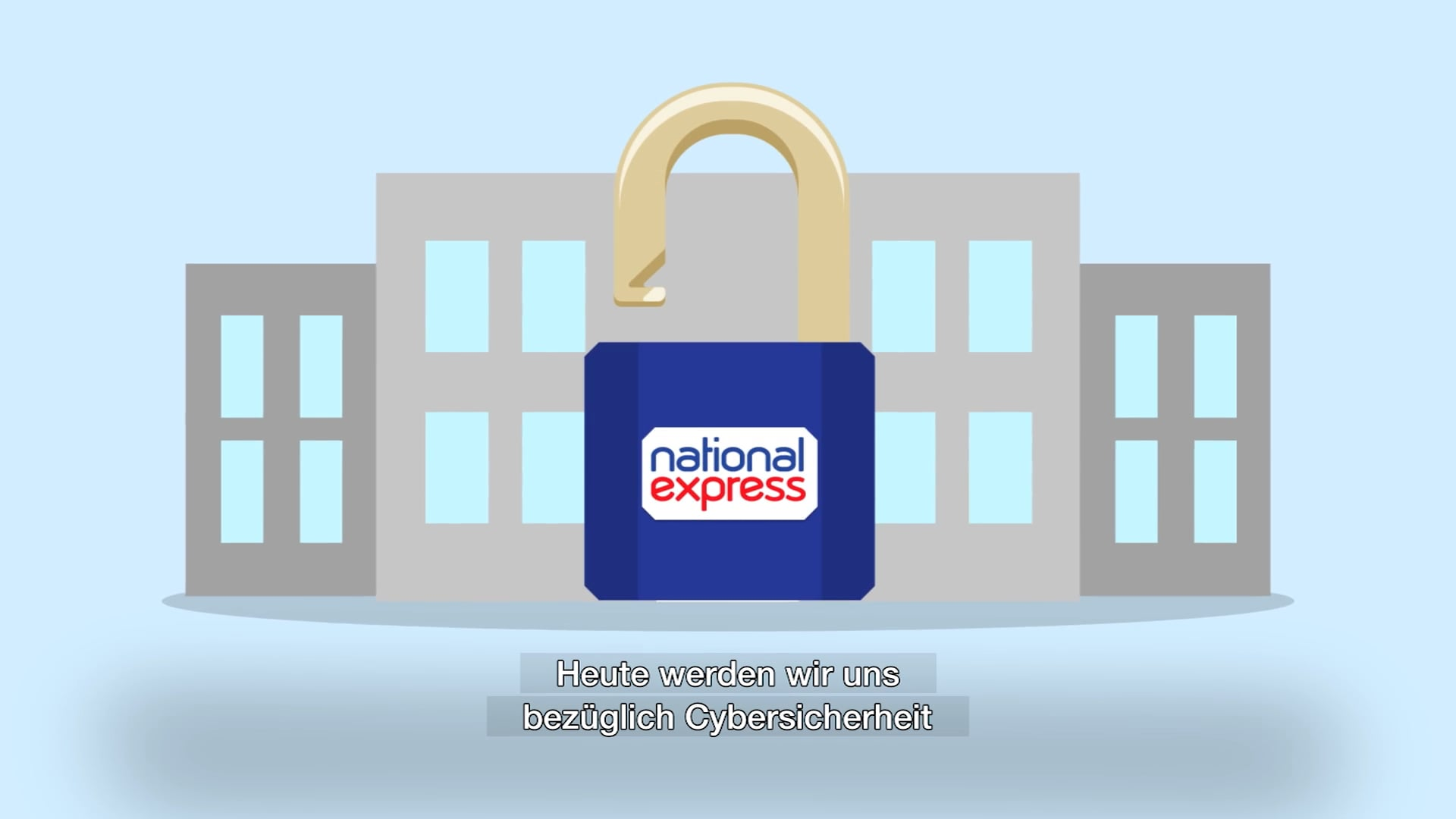National Express - Cyber Security - GERMAN - Company Internal Use Video