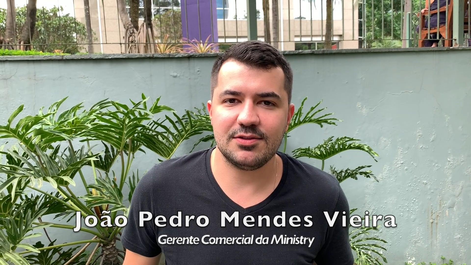 Depoimento de João Pedro Mendes Vieira da Ministry sobre a Channels' University