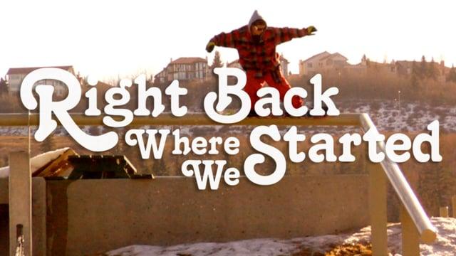 "Jiberish presents ""Right Back Where We Started"" from Jiberish"