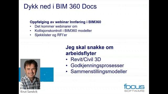 BIM 360 – Dykk ned i Document Manager