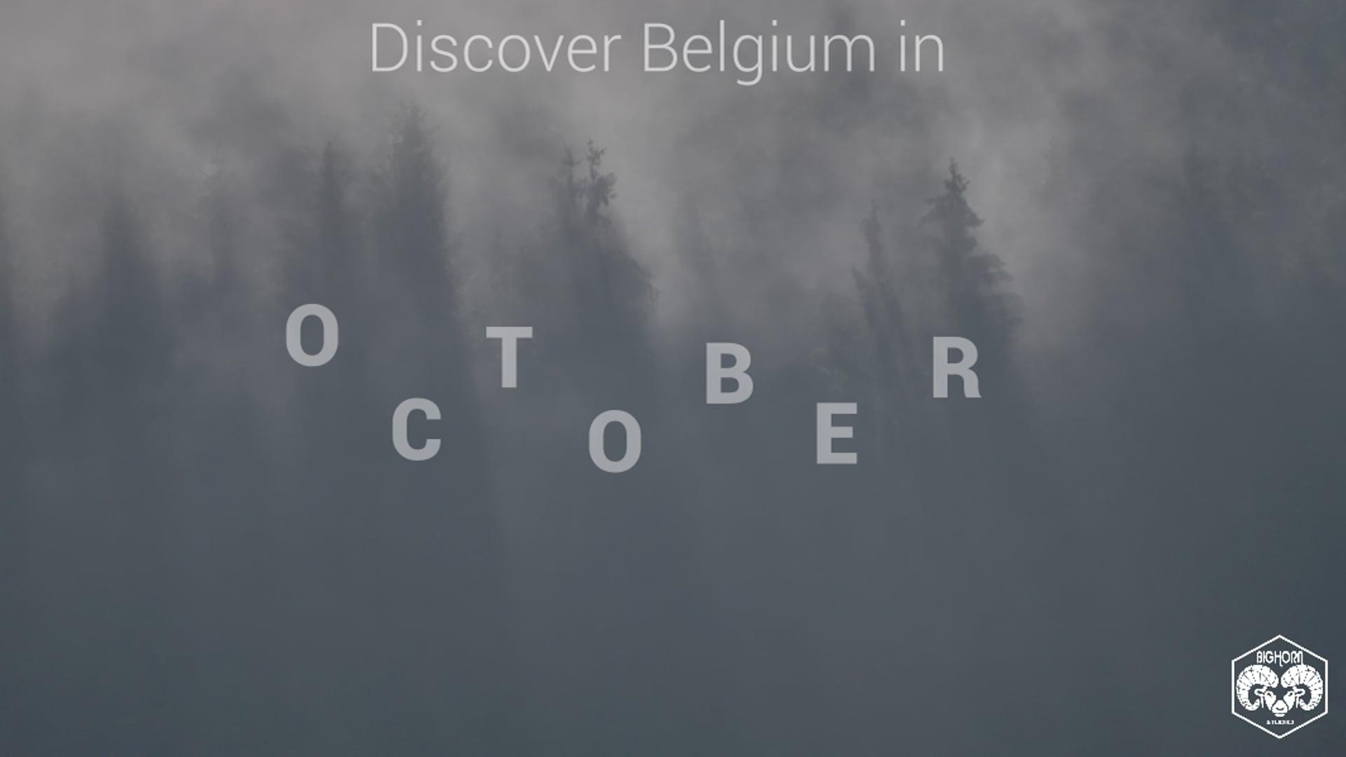 Discover Belgium in October II