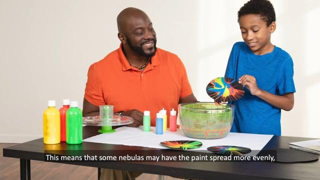 Nebula Spin Art - Activity Training Video (2020)