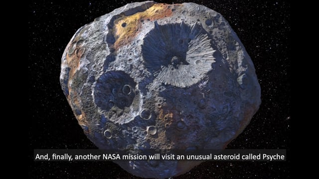 Asteroid Mining  - Content Training Video (2020)