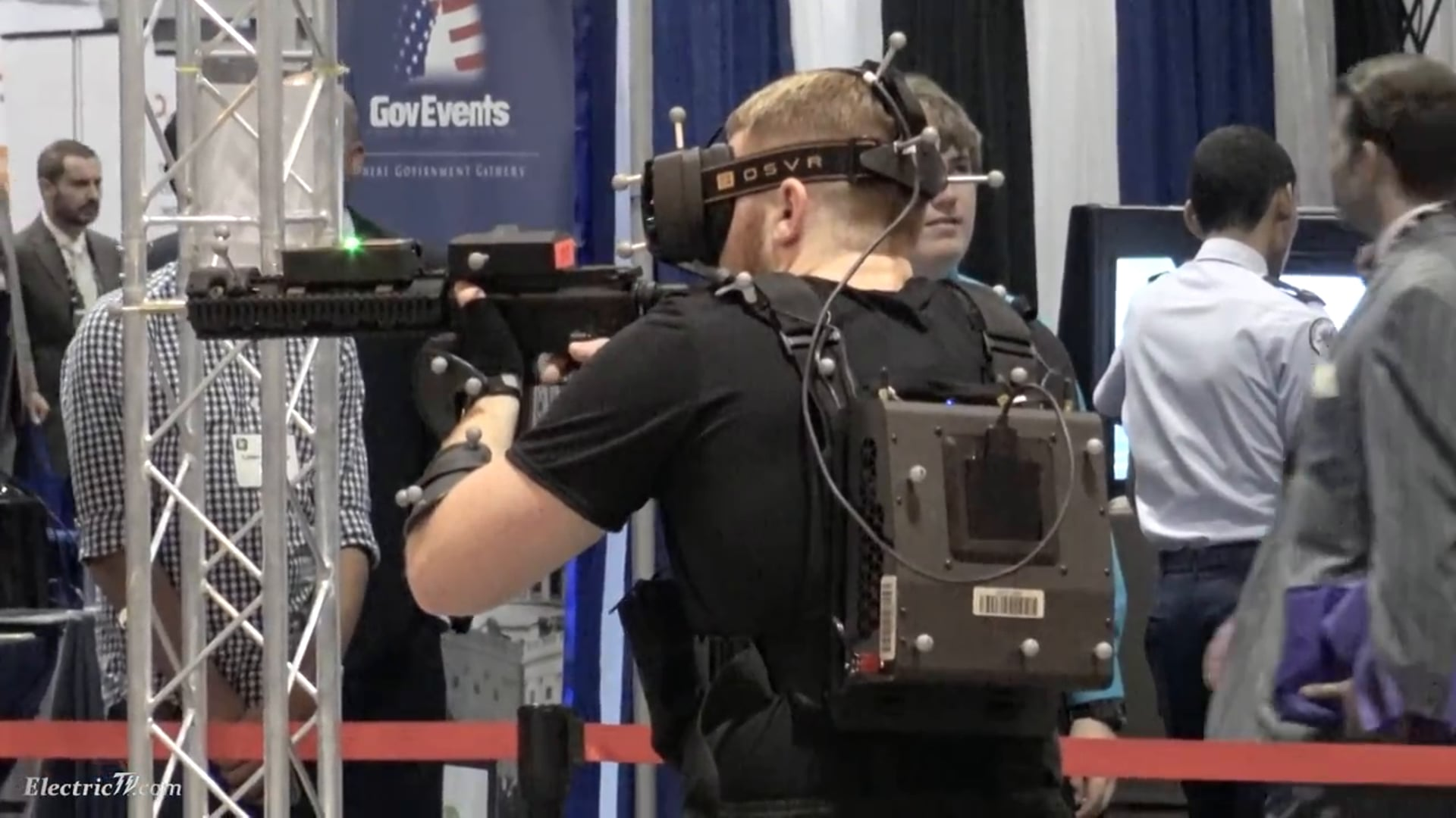 Military & Police VR Training Simulator by Motion Reality