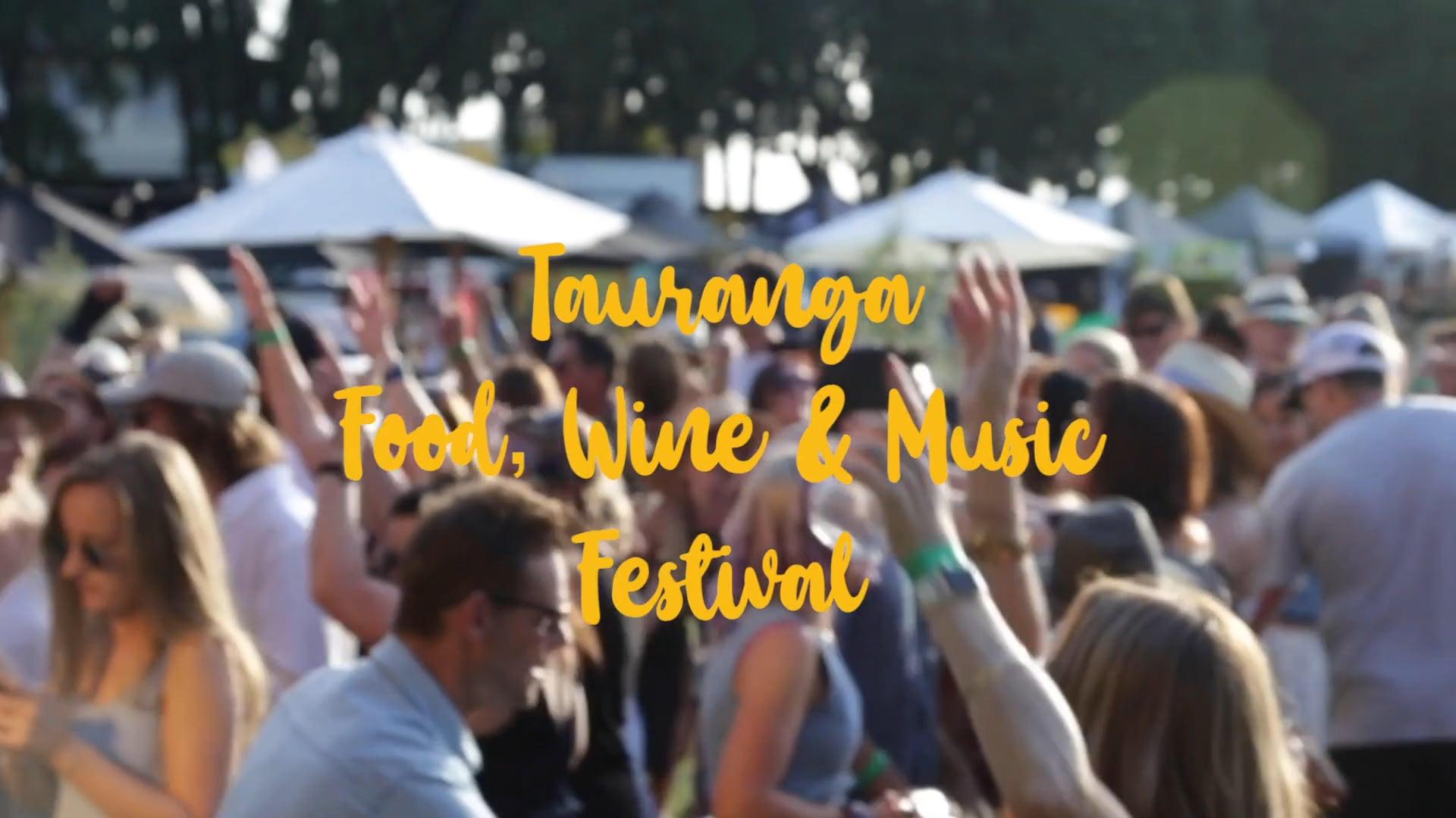 Video Production for Tauranga Food, Wine & Music Festival