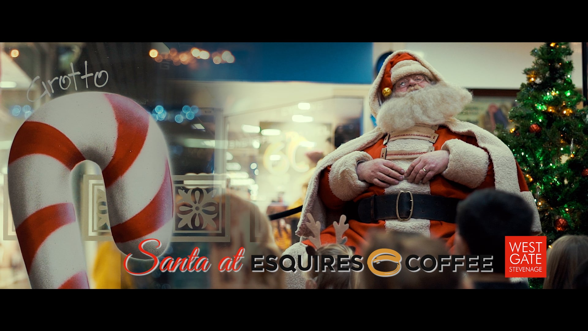 Santa at Esquires Coffee / Westgate Shopping Centre / Stevenage