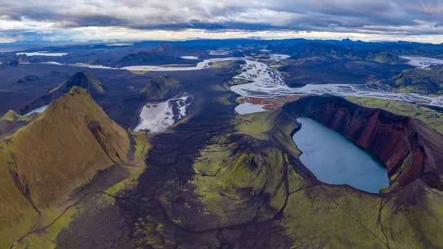 Iceland by Air, Drone/Aerial Relaxation Video