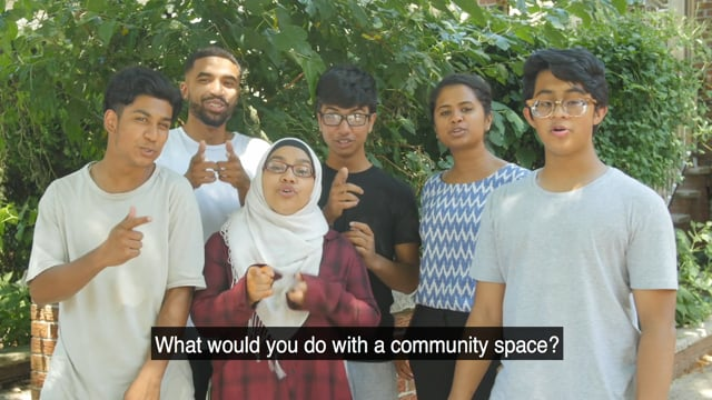 Youth Skit + PSA on community space