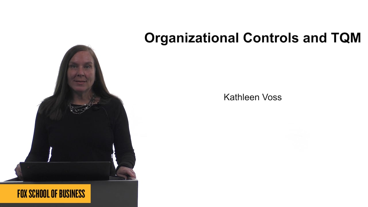 61682Organizational Controls and TQM