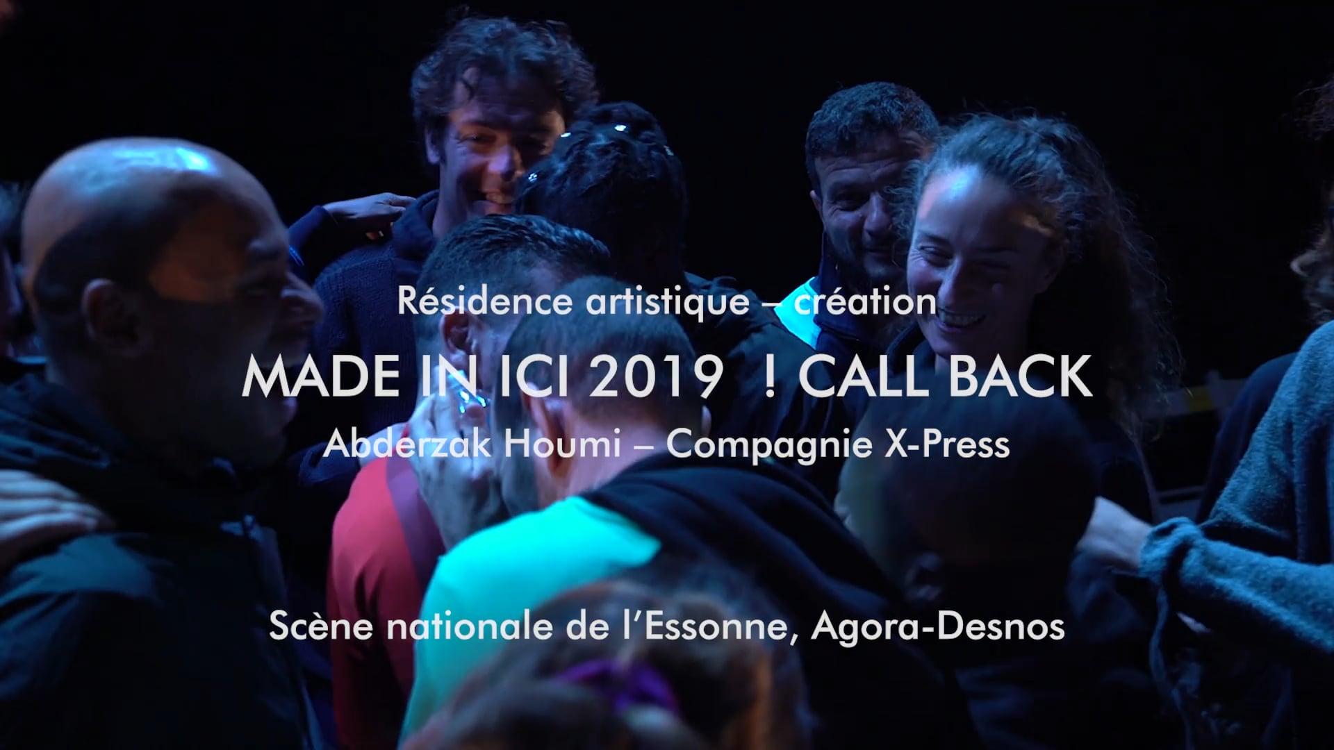 Made In Ici 2019 - Scène nationale de l'Essonne