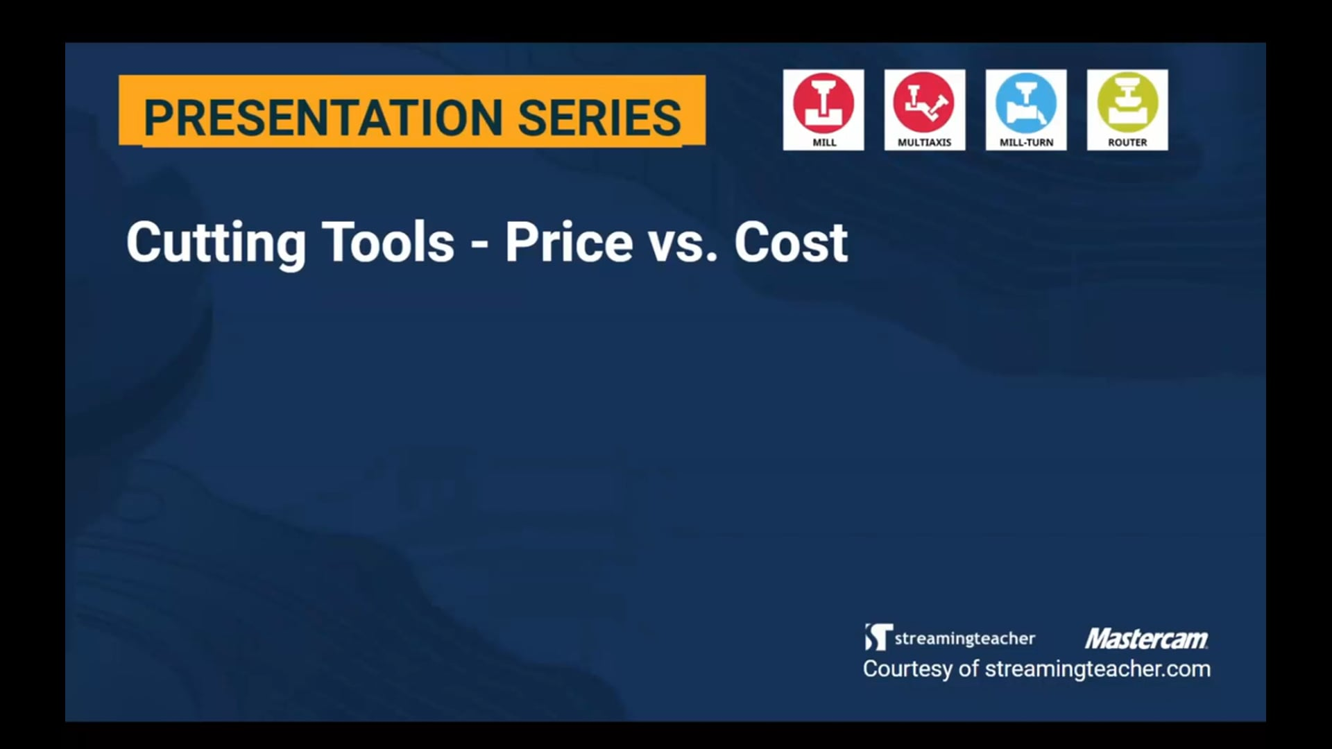 Cutting Tools - Price vs. Cost