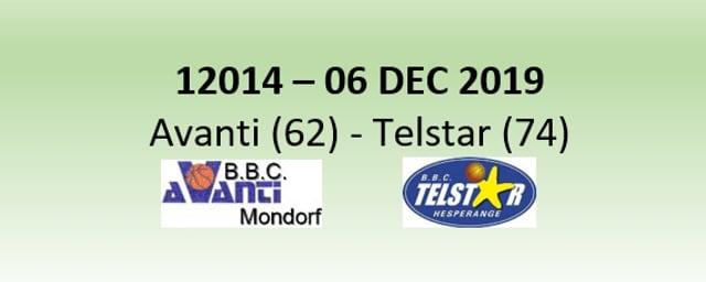 N2H 12014 Avanti Mondorf (62) - Telstar Hesperange (74) 06/12/2019
