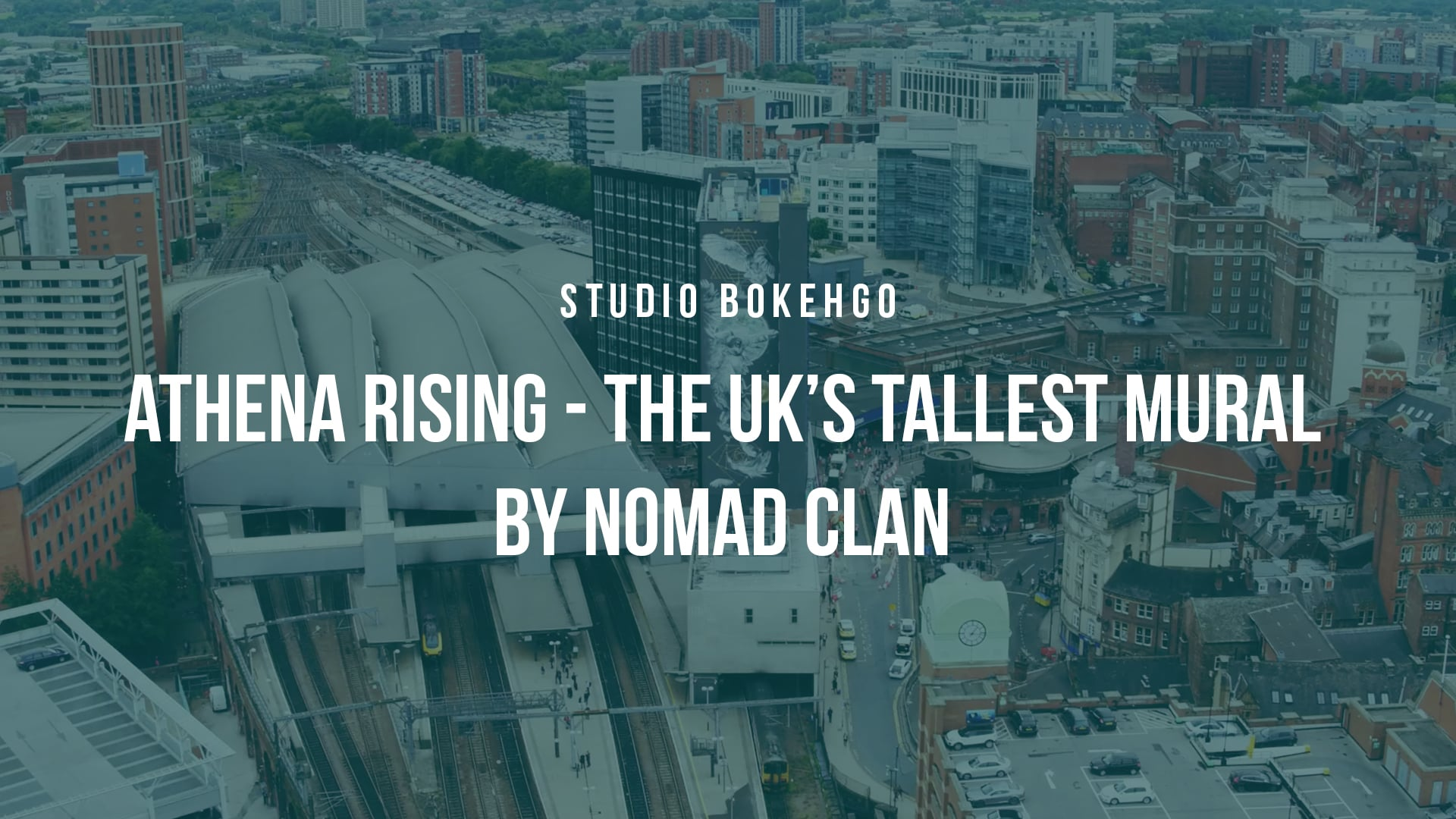 Athena Rising - The UK's Tallest Mural