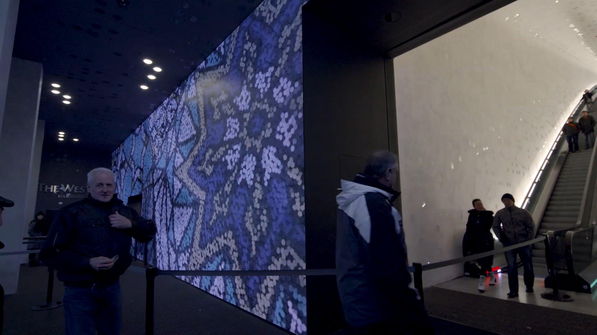 2018 Videos on Elbphilharmonic Hamburg Media Wall