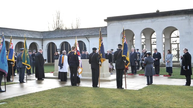 The 80th Anniversary Commemoration of 'The Battle of Heligoland Bight' Service.
