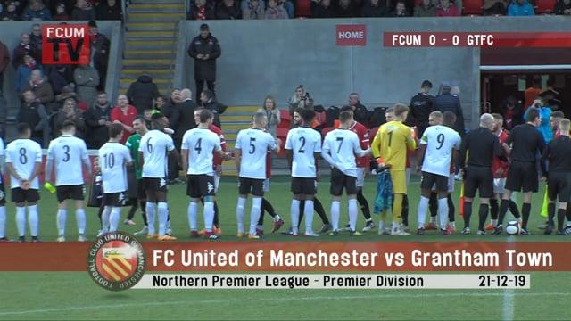 FCUM vs Grantham Town FC - Highlights - 21-12-19