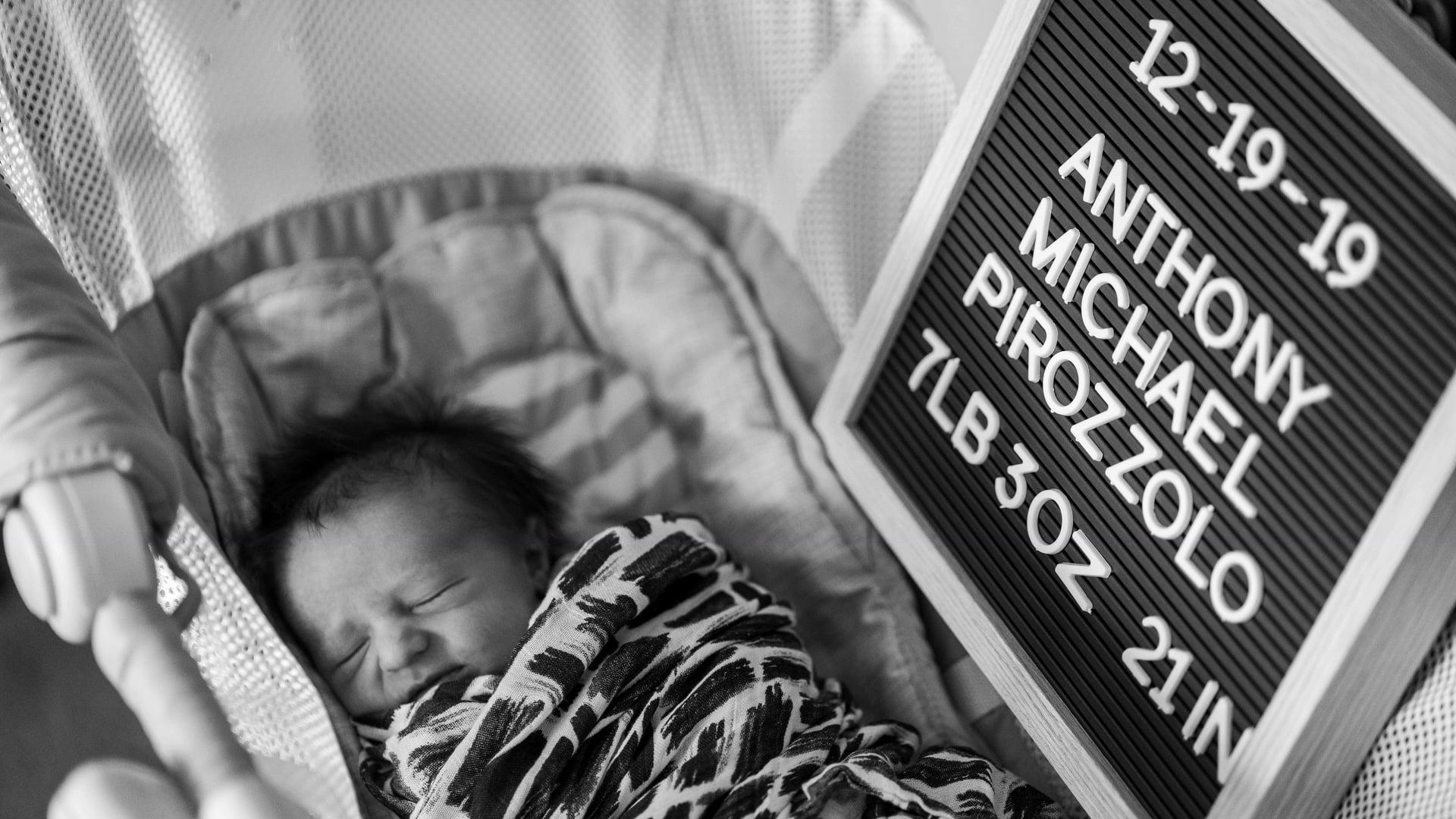 Anthony Michael's Birth Story