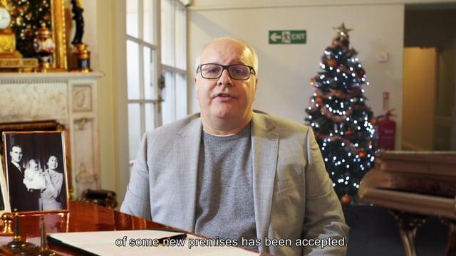 Queen Seagrave's Christmas Speech 2019