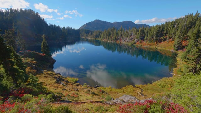 Baker River Trail and Chain Lake Trail