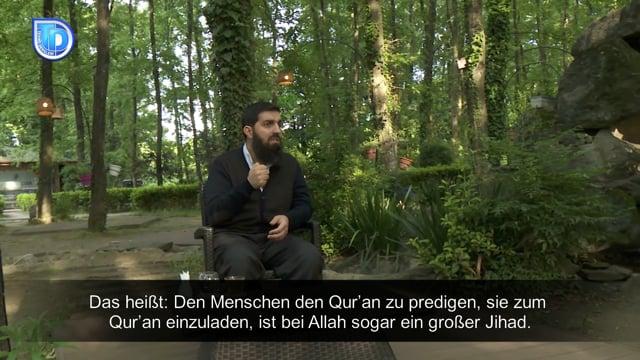 Ihre Meinung darüber, dass man Sie sowohl einen 'Jihadisten' als auch einen 'Anti-Jihadisten' nennt? - Schaikh Ebu Hanzala