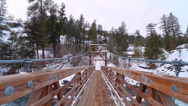 Bowl and Pitcher Winter Hike, Spokane