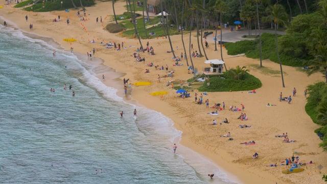 Hanauma Bay Beach, Oahu, Hawaii - HDR
