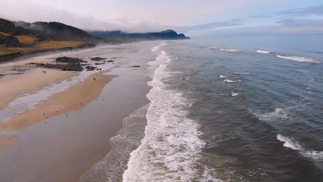 Bird's Eye View of Coastal Oregon - Preview