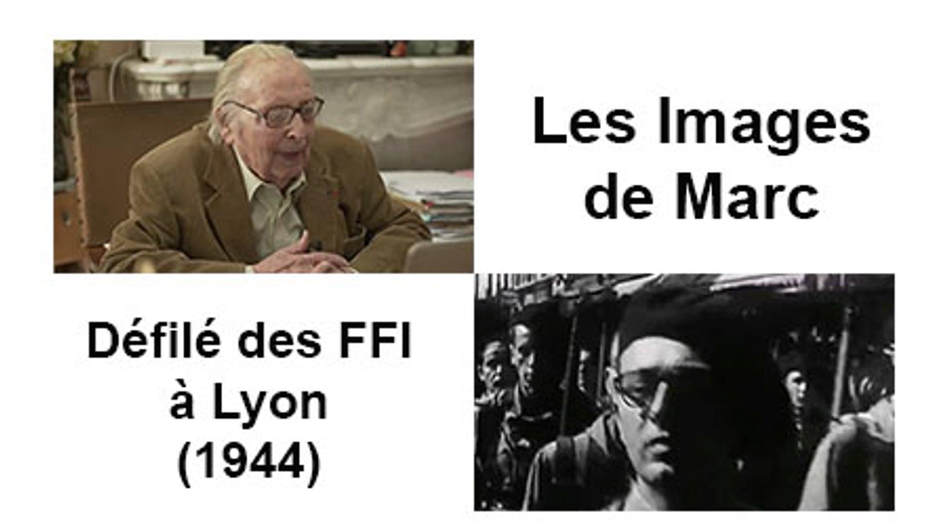 Défilé des FFI à Lyon (1944)