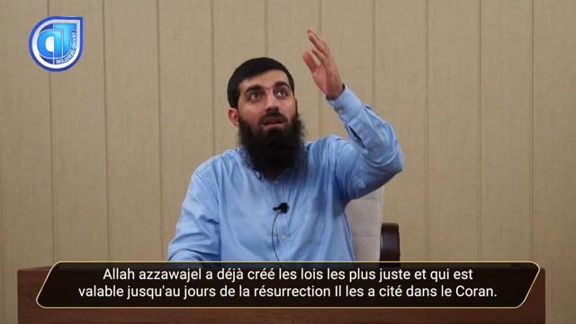 La Création Ainsi Qu'ordonné N'appartient Qu'à Allah - Cheikh Ebu Hanzala