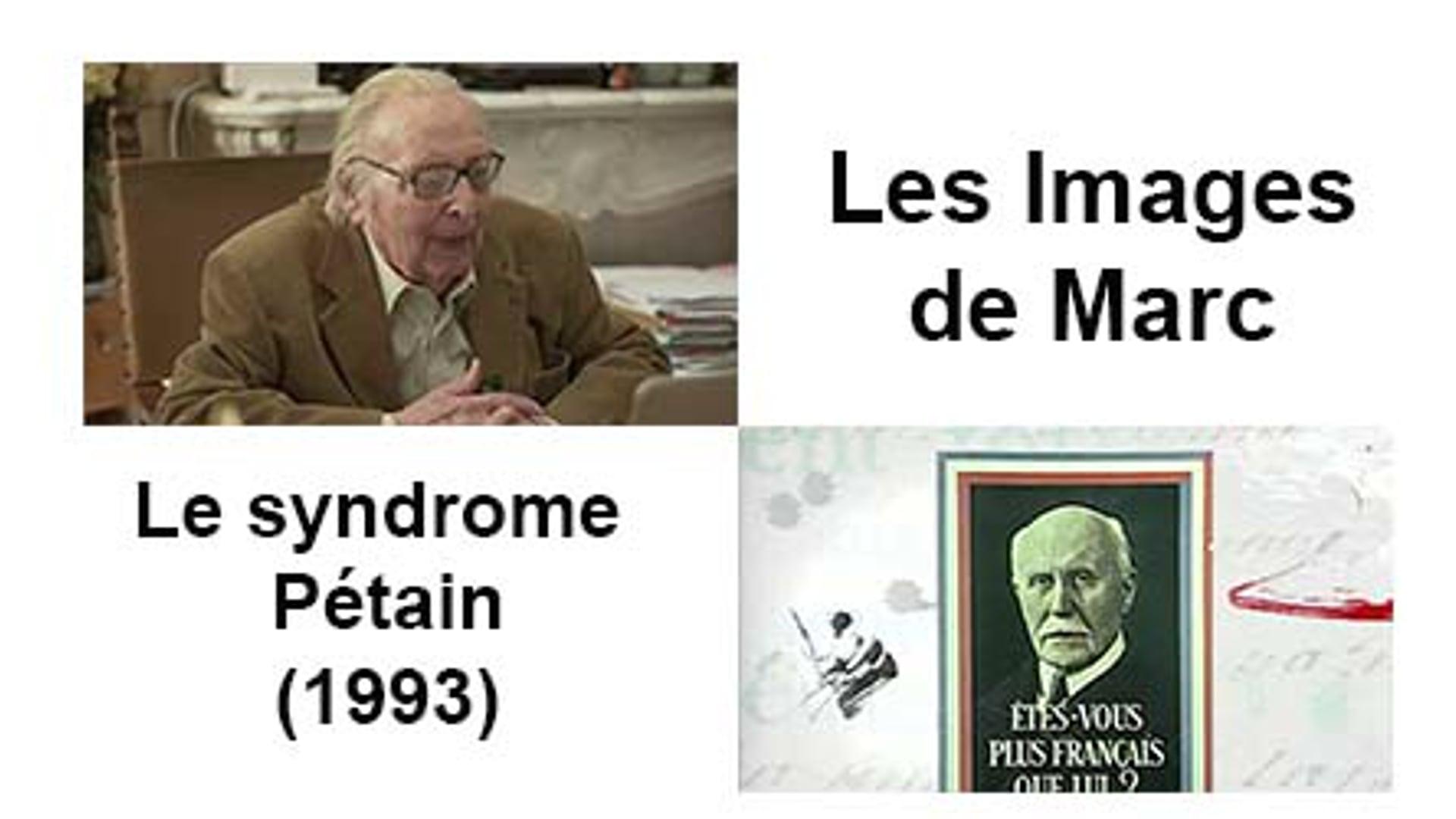 Le syndrome Pétain (1993)
