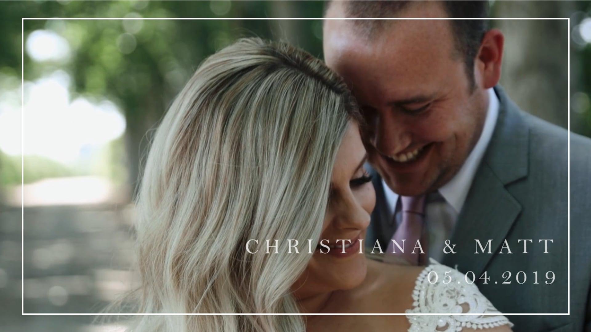 Christiana & Matt // Historic Seven Sycamores