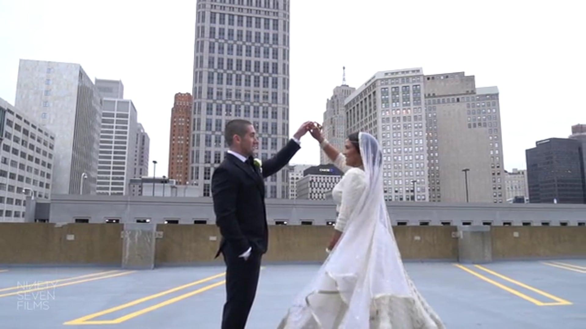 Colony Club Detroit Indian Fusion Wedding | Menali + Scotty Wedding Film