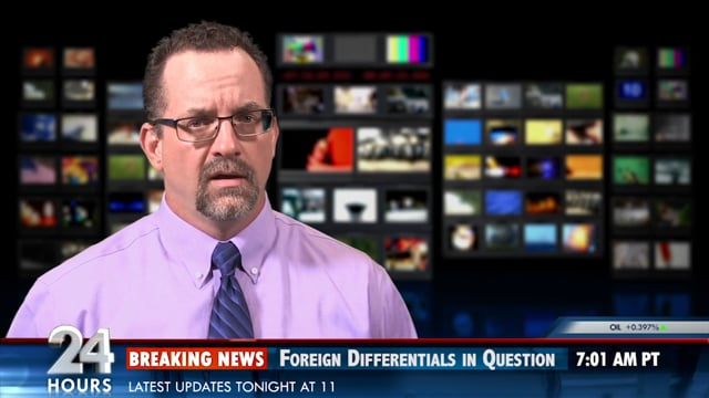 """5320 - DEPT. of DEFENSE -  """"The Newscaster Video"""""""