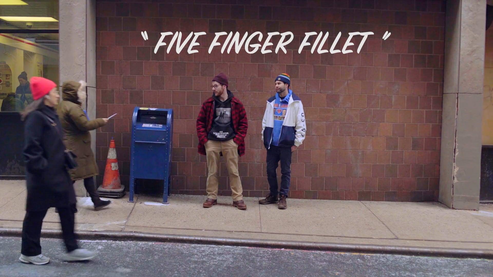 Pen Pals Five Finger Fillet