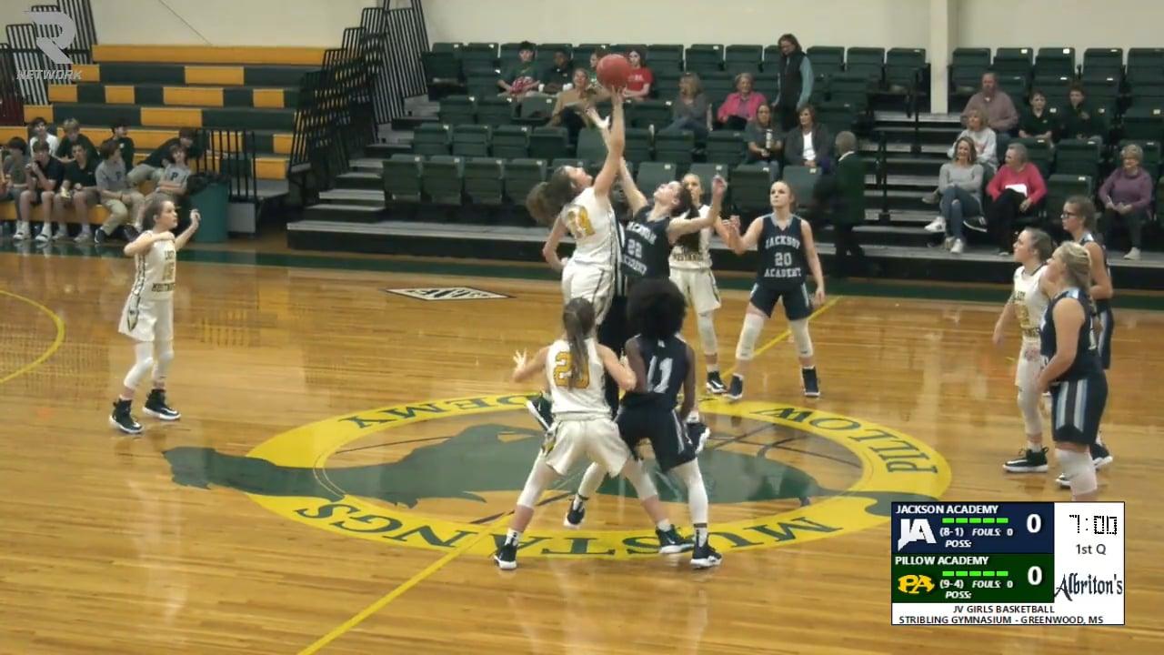 JV Girls Basketball-2019-Dec 12-Pillow Academy