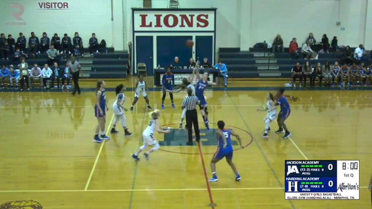 Varsity Girls Basketball-2019-Dec 20-Harding