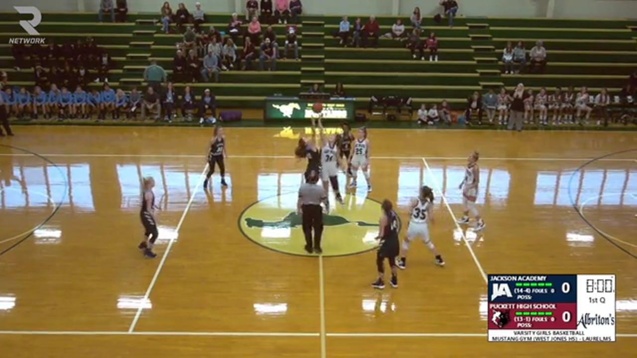 Varsity Girls Basketball-2019-Dec 28-Puckett