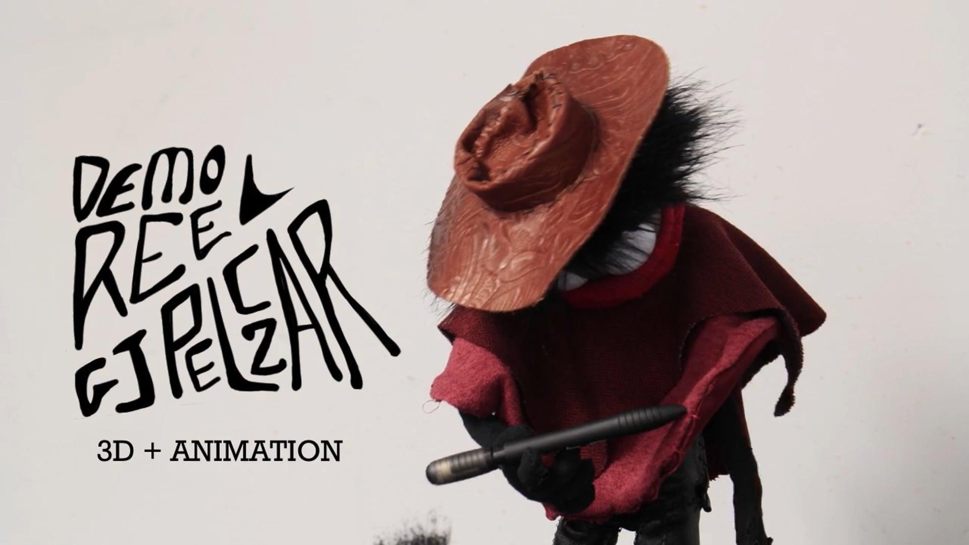 GJ Pelczar 3D + Animation Reel 2020