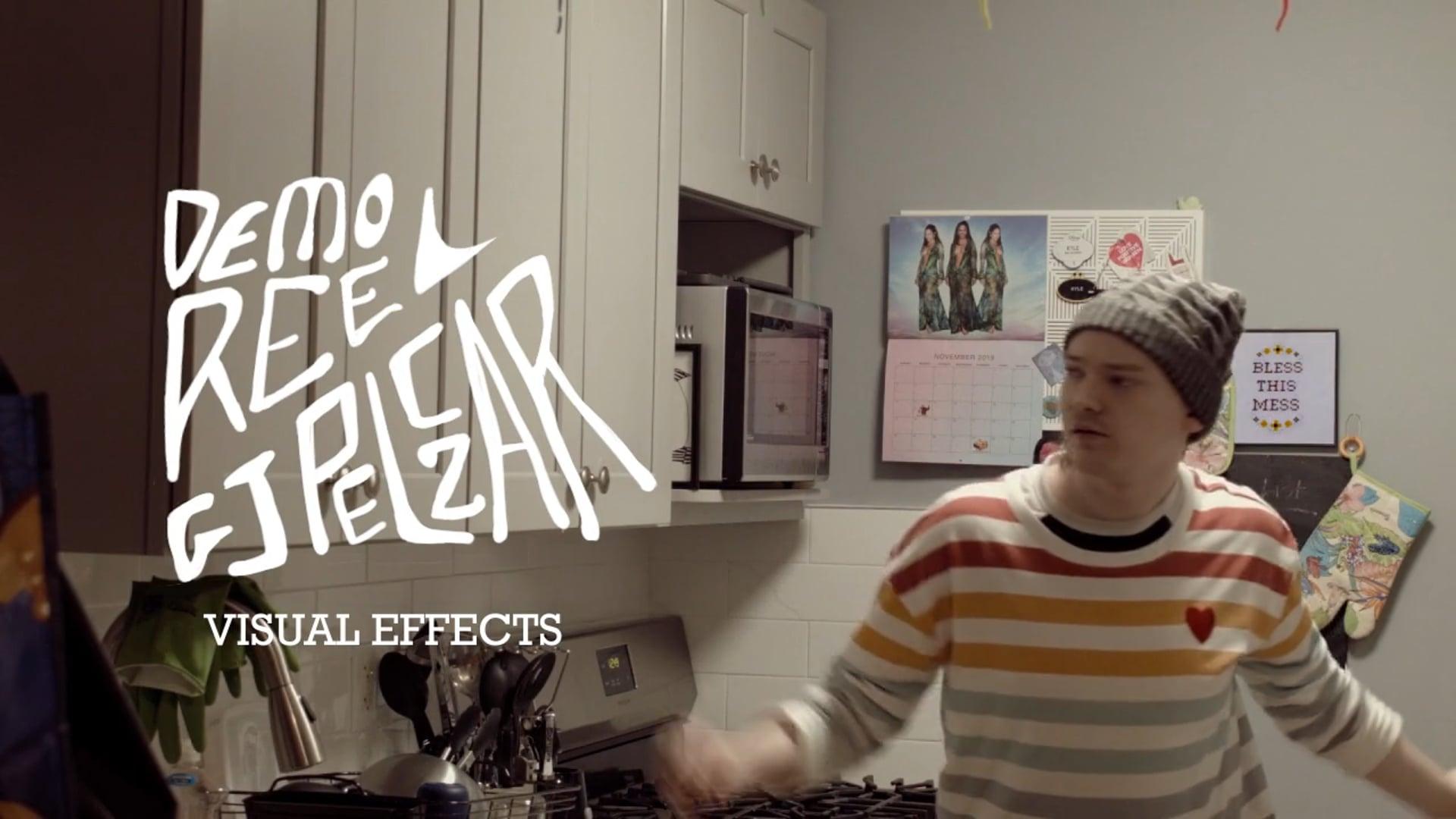 GJ Pelczar VFX Reel 2020