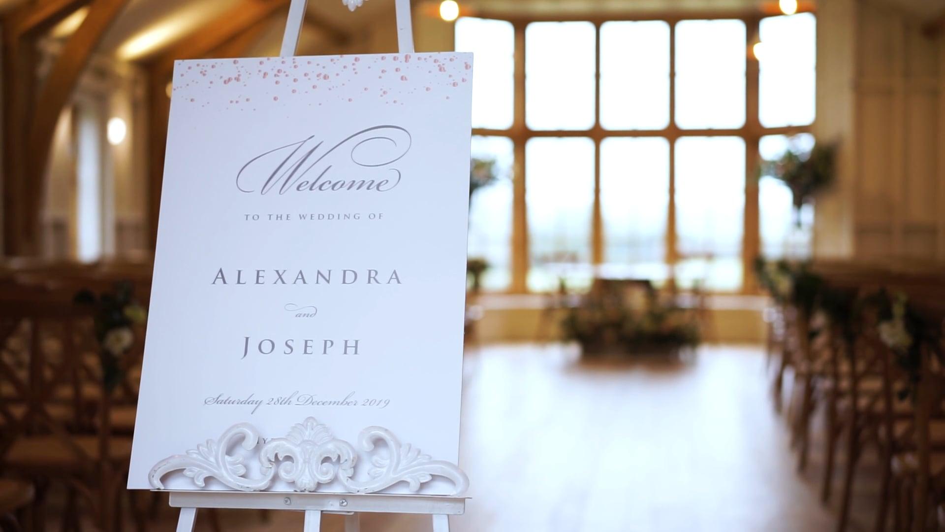 Alex & Joe | Wedding Trailer | 28.12.19