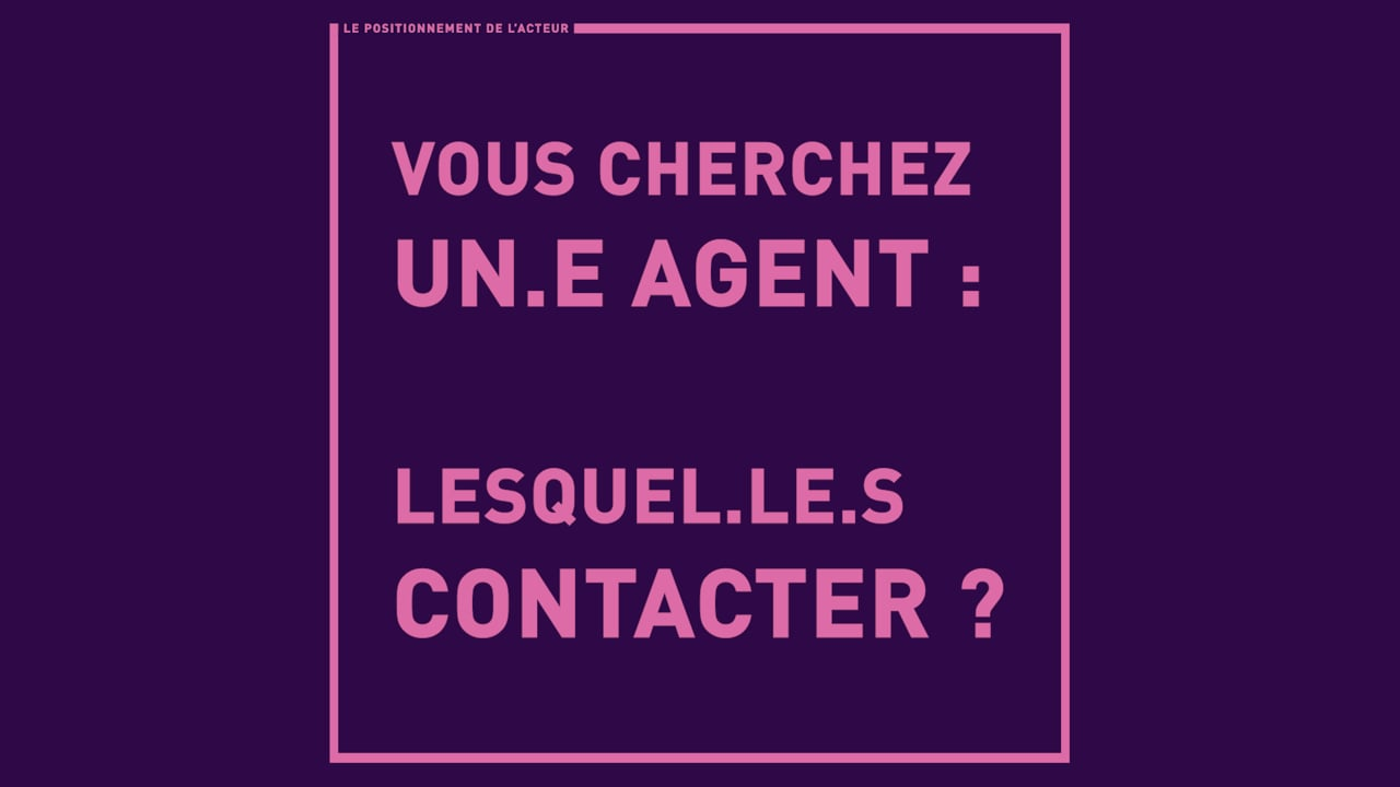Vous cherchez un agent : lesquels contacter ?